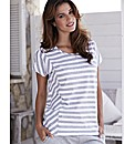 Stripe Chevron T-Shirt