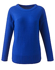Jumper with Drop Shoulder Detail