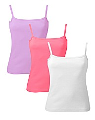 Pack of 3 Camisoles