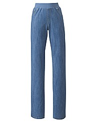 Straight Leg Jeans 31in