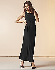 Maxi Dress with Pleats