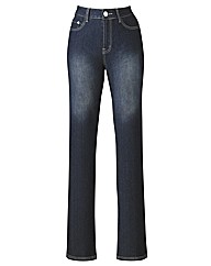 Embriodered Bootcut Jeans 30in