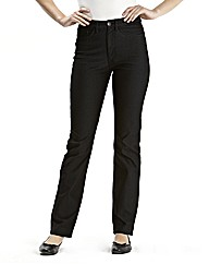 Jersey Straight Leg Jeans Length 29in