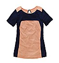 Colour Block T-Shirt Longer Length 28in