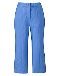 MAGIFIT Crop Twill Trousers 19in