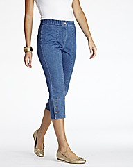 MAGIFIT Crop Jeans Straight Leg 19in