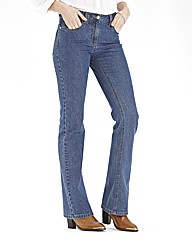 Lower Rise Basic Bootcut Jeans 32in