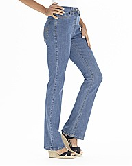 Lower Rise Basic Bootcut Jeans 34in