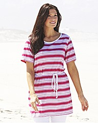Striped Jersey Top