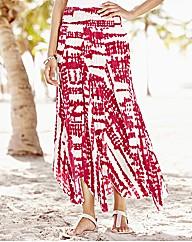 Tie Dye Effect Skirt