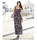 Print Maxi Dress