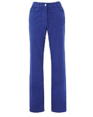 Straight Leg Cord Jeans 29in