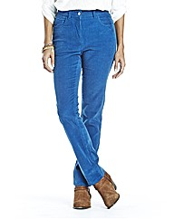Straight Leg Cord Jeans 27in