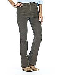 Bootcut Cord Jeans 28in