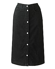 Cord Pencil Skirt 25in