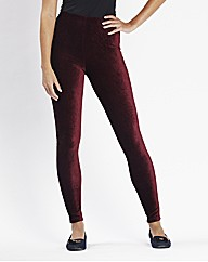 Stretch Cord Leggings Length 28in