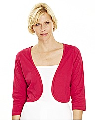 3/4 Sleeve Jersey Shrug