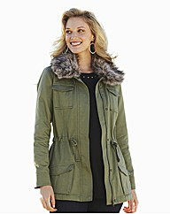 Jacket With Detachable Collar