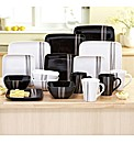 16 Piece Square Dinner Set BOGOF