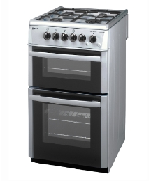 Beko 50cm Gas Double Cavity Cooker