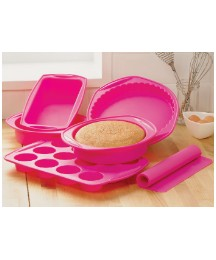 Viners 6pc Silicone Bakeware