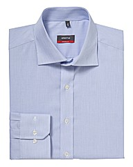 Eterna Mighty Textured Plain Shirt