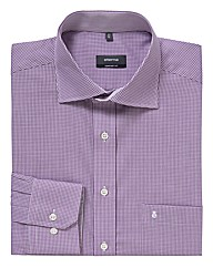 Eterna Tall Mini Gingham Shirt