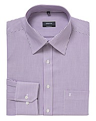 Eterna Mighty Classic Striped Shirt
