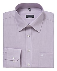Eterna Tall Textured Plain Shirt