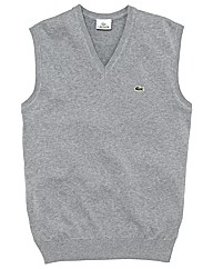 Lacoste Mighty V Neck Sleeveless Vest