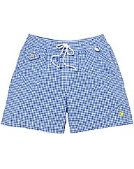 Polo Ralph Lauren Gingham Swim Shorts