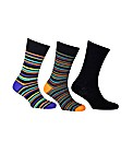 HJ Hall Mixed 3 Pack Socks