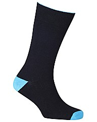HJ Hall Contrast Toe 3 Pack Socks