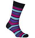 Peter Jones Turnpike Striped Socks
