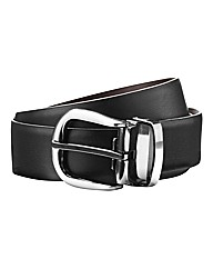 & Brand Reversible Leather Belt