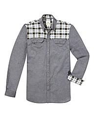 Kayak Tall Checked Panel Shirt