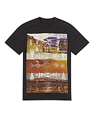 Kayak Mighty Desert Aztec Print T Shirt