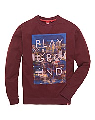 D555 Mighty Playground Print Sweatshirt