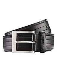 Duke London Stitched Leather Belt