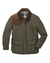 Polo Ralph Lauren Tall Quilted Car Coat