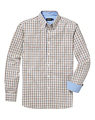 &Brand Tall Country Check Twill Shirt