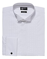 &City Mighty Double Cuff Dress Shirt