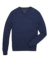 Tommy Hilfiger Mighty V-Neck Knit Jumper