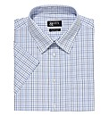 &City Mighty Grid Check Easycare Shirt