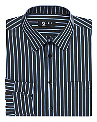 &City Tall Triple Stripe Easycare Shirt