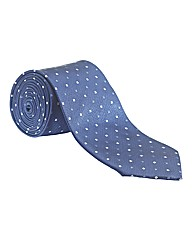 & City Long Length Mini Patterned Tie
