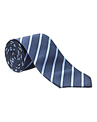 & City Long Length Striped Tie