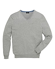 &Brand Tall V Neck Jumper