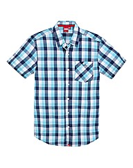 D555 Tall Multi Check Shirt