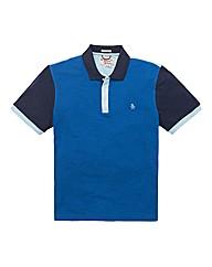 Original Penguin Tall Block Polo Shirt